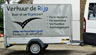 Aanhanger te huur Noord Friesland